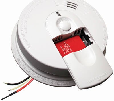 Kidde 21007581 120 V Wire-In Smoke Alarm