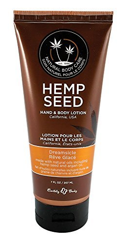 Earthly Body Hemp Seed Hand & Body Lotion 7oz Tube - Assorted Scents (Dreamsicle)
