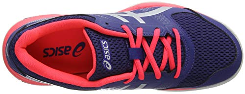 Silver Asics 400 8 Gel Volleyballschuhe Blue Damen Rocket Print Blau 818xUgq