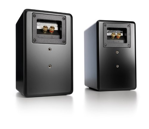 Audioengine P4 Black (Pr.) 2-Way Passive Bookshelf Speaker (AP4B) by Audioengine (Image #1)
