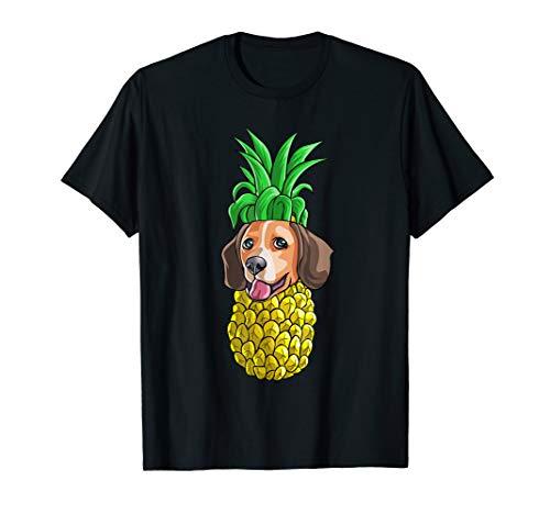 Pineapple Beagle T Shirt Hawaiian Aloha Beach Gift Hawaii]()