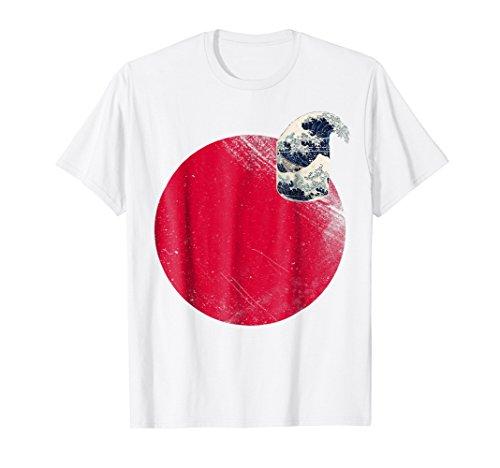 - Japan Rising Sun Japanese Flag Nisshoki Hinomaru T-Shirt