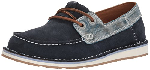 Ariat Castaway Womens Shoes Navy Ice Blue