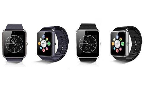 Smartwatch con SIM Compatible con Smartphones Android y iPhone SW-832 (Negro): Amazon.es: Deportes y aire libre