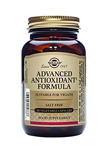 Solgar – Advanced Antioxidant Formula, 60 Vegetable Capsules