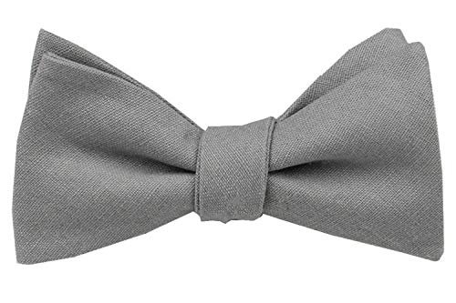 Solid Ties Classic Butterfly Bowties Wedding Various Colors product image