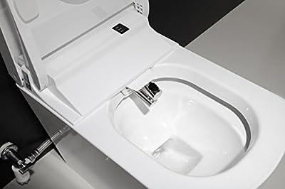 SYSINN S300-3 Auto-open,Auto-close,Washer Heating,Cushion Heating,Radar Detect Smart 1-Piece Toilet Set