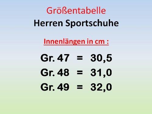 Herren Gr Sportschuhe neongrün grau neongrün 47 grau GIBRA 49 CqdRxwIx