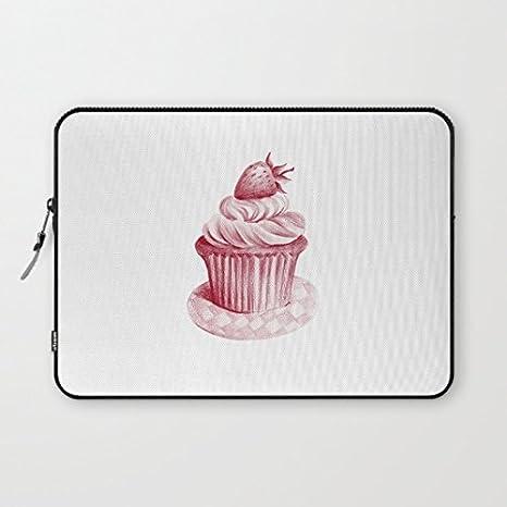 longdong de 13 pulgadas Cupcakes Carcasa del ordenador bolsa Slim Funda Neopreno, impermeable para portátil Macbook Pro/portátiles/Notebook: Amazon.es: ...