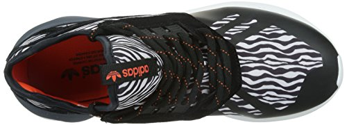 adidas Men's Tubular Runner Low-Top Sneakers White / Black lZWg1f5