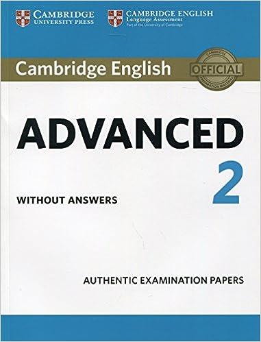 cambridge english advanced  Cambridge English Advanced 2. Cambridge English Advanced 2 Student's ...