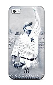 DanRobertse Case Cover For Iphone 5c - Retailer Packaging New York Yankees Protective Case