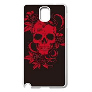 HXYHTY Skull Art 5 Phone Case For Samsung Galaxy note 3 N9000 [Pattern-3]