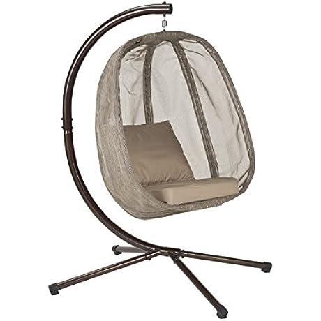 Flower House FHEC100 BRK Egg Chair Bark