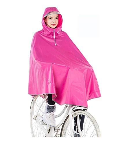Vélo 1 Poncho Bicyclette Imperméable Transparent Extérieur Femelle Capuchon Dame Veste Et Casual À Pluie De Adulte aAxEqB