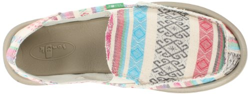 Sanuk Ladies Poncho Natural Shoes Donna rYHTqYAwO