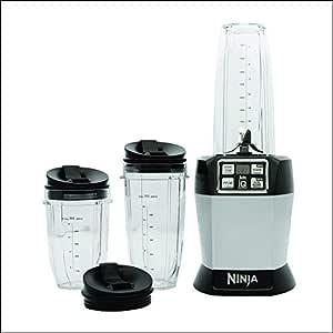 Nutri Ninja BL480ANZMN Nutrient Extractor, Black and Chrome
