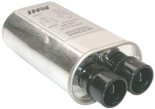 Whirlpool - Condensador 1,15 μf 2100 V 31 x 52 x 100 mm ±4 ...