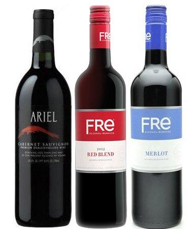 Non-alcoholic Red Wine Variety (Sutter Merlot)
