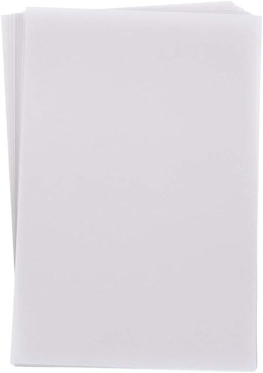 Paquete De 15 hojas papel vitela Imprimibles 100gsm Crafters Companion Imprimible por inyección de tinta