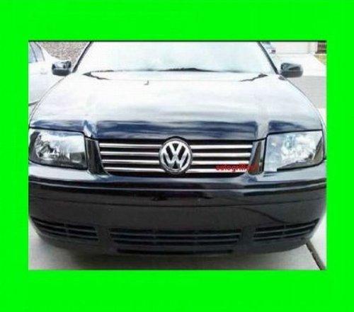 312 Motoring Fits 1999 2005 Volkswagen Jetta Chrome Grille Grill Kit 2000 2001 2002 2003 2004 99