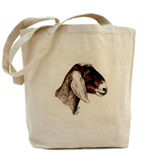 Nubian Goat Tote Bag by CafePress by CafePress