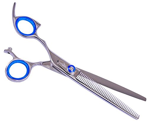 shark-fin-grooming-gold-line-50-tooth-texturizer-lefty-non-swivel-stainless-new