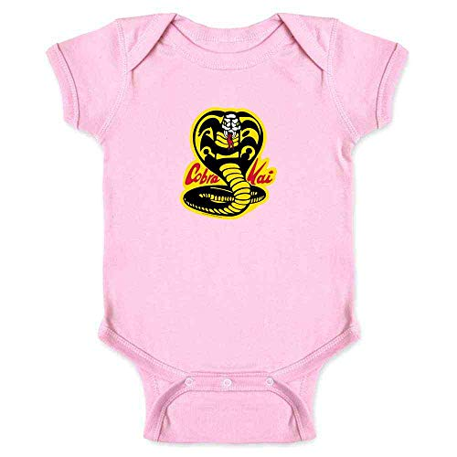 Cobra Kai Karate Kid Dojo Retro Martial Arts Pink 24M Infant -