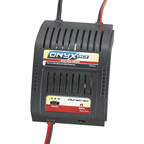 Duratrax Onyx 110 AC/DC Peak Charger for 4-8 Cell NiCd or NiMH RC Battery Packs