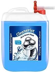 5 liter Cleanerist Jet & Smart Fluid reinigingsvloeistof compatibel met Philips scheerapparaat met kraan Sabeu FLUXX®