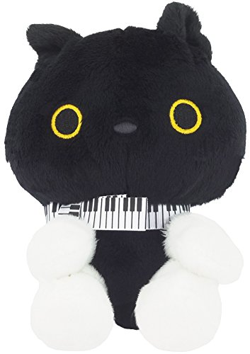 San-X Concert of Black Cat Nyanko Stuffed Plushes Animal Toy (MR32901) by San-X