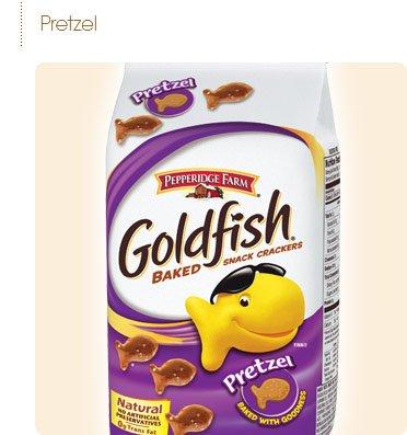 Pepperidge Farm Goldfish, Pretzel, 8-ounce bag