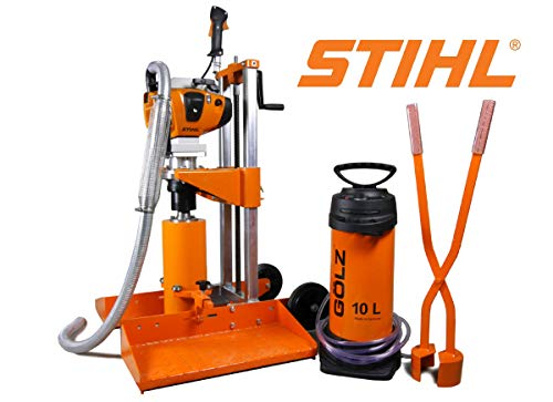Golz KB200 Portable Gas Powered Core Drills for Road & Pipe-STIHL Powered Engine