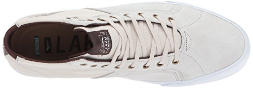 Lakai Unisex Adults' Flaco High Skate Shoe White Suede l0IpFOR