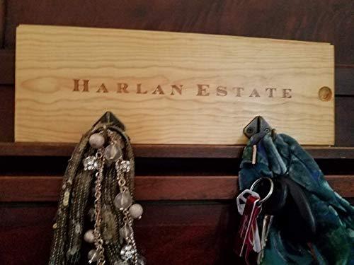 - Wood Wall Rack from Harlan Estate Wine Panel