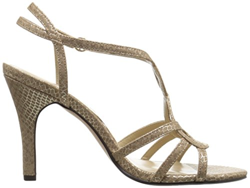 ADRIENNE VITTADINI Footwear Womens Grovis Dress Sandal Taupe is6GCU9I0