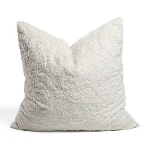 Chateau by Sheri Throw Pillow, 24 x24 , Ivory