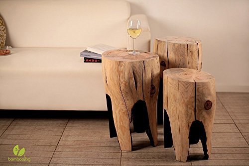 Tree Stump Table, Coffee Table, Small Table, Tea Table, Wooden Furniture, Rustic Decor, Log Stool, Tree Stump Stool, Wooden Side Table ()