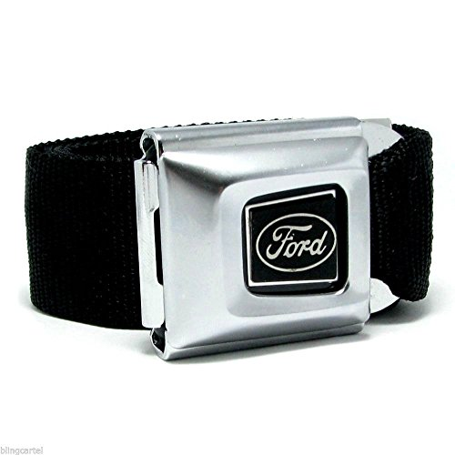 Cars Logo Seatbelt belts - Buckle Down seat buckle belts Cars Logo Variations (Ford Seatbelt - Seat Belt Ford Belt