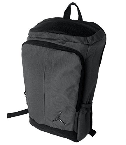Nike Jordan Gray Unconscious Laptop Storage Pack Backpack (Gray Black)