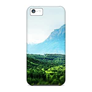 LJF phone case Hot Style KGHwAvr6881OeaJN Protective Case Cover For Iphone5c(into The Wild Green Yonder)