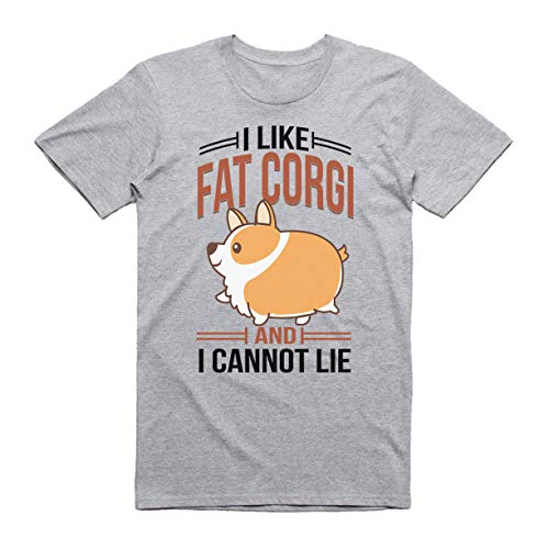 Qualità Grey Divertente Fat shirt T Wgc Per Uomo Alta Trendy Corgi Like I Di wHxFYO4v