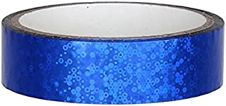 Glitter Decorative Adhesive Tape 25 mm x 30 m for Hula Hoop, Blue