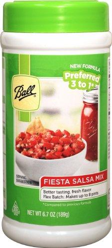 Ball Fiesta Salsa Mix - Flex Batch - New! (6.7oz) (by Jarden Home (Fiesta Tomatoes)