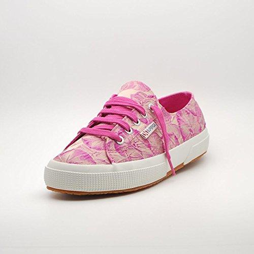 3ec9a2b5b3 Superga 2750 Fabricw Vanity - Zapatillas de lona para mujer rosa - Pink  (Fuxia) ...