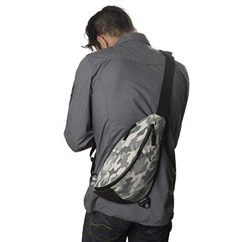 KEEP PURSUING KP Sling Bag Platinum Camo with Orange Interior ...