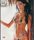 Yamila Diaz Signed Auto'd Bikini 8x10 Photo COA PSA/DNA Certified