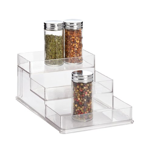 """Small Linus Spice Rack Clear 6-1/4"""" x 10-3/8"""" x 4"""" h"""