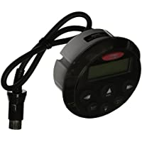 Clarion CMRC1-BSS Watertight Marine Remote Control with LCD Display (Black/Stainless Steel Bezel)