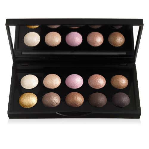 e.l.f. Cosmetics Baked Eyeshadow Palette, 10 Oven-Baked Eyeshadows for Beautiful Eyes, Texas